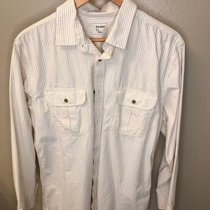 Old Navy button down shirt large